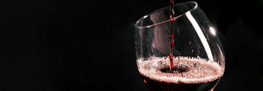 photo verre de vin rouge